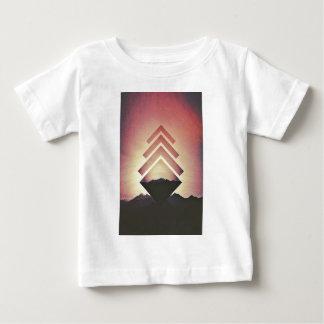 Burning Mountain Landscape Baby T-Shirt