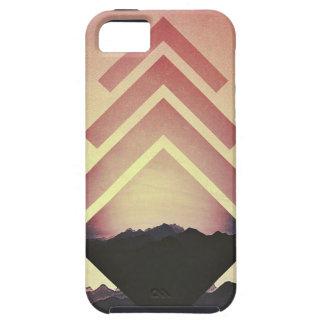 Burning Mountain Landscape iPhone SE/5/5s Case