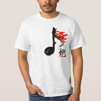 Burning Note T-Shirt