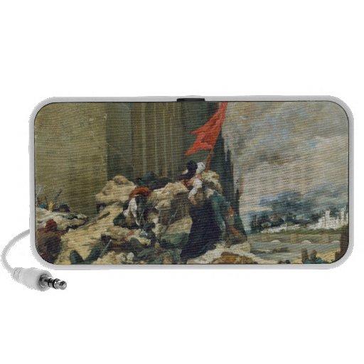 Burning of the Tuileries, 1871 Laptop Speakers