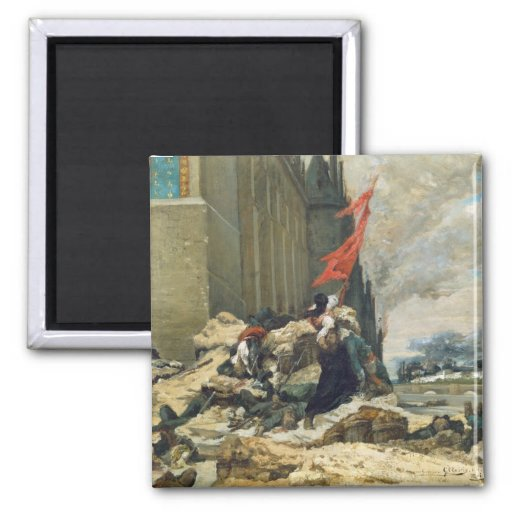 Burning of the Tuileries, 1871 Magnet