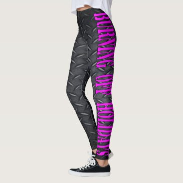 Halloween Themed Burning Off Holidays Leggings