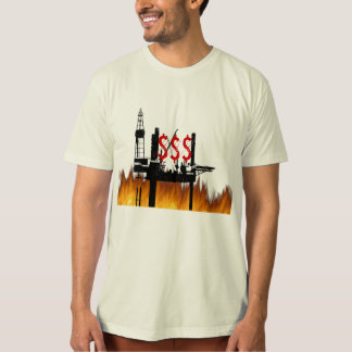 Burning Oil Dark Shirt