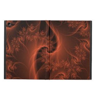 Burning Orange Twist iPad Air Covers
