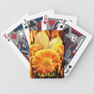 Burning Pack - Royal Flush Poker Deck