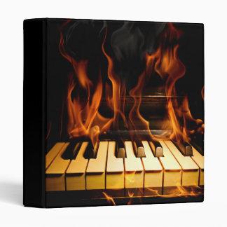 Burning Piano Binder