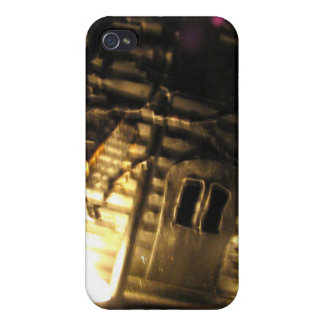 Burning Porch Cover For iPhone 4