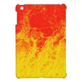 Burning red and yellow fire iPad mini covers