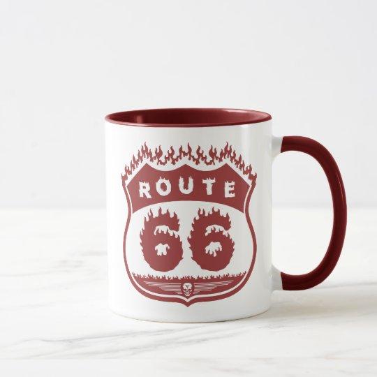 Burning Route Mug