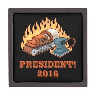 Burning Sanders Keepsake Box