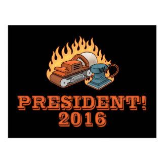 Burning Sanders Postcard