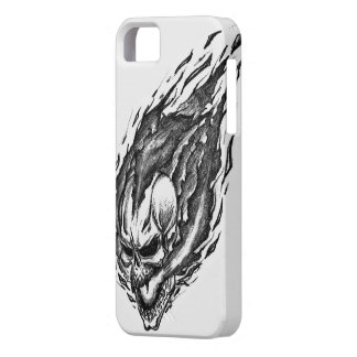 Burning Skull iPhone SE/5/5s Case