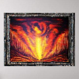 Burning Sky Print