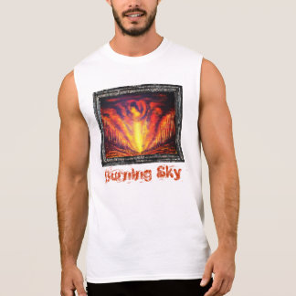 Burning Sky Sleeveless T-shirt