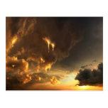 Burning Sky - tarjeta postal