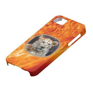 Burning Sun & African Lion iPhone 5 Case