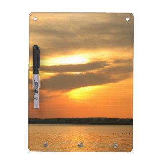 Burning Sunset Dry Erase Whiteboards