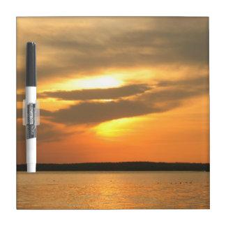 Burning Sunset Dry-Erase Boards