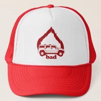Burning SUVs is bad hat