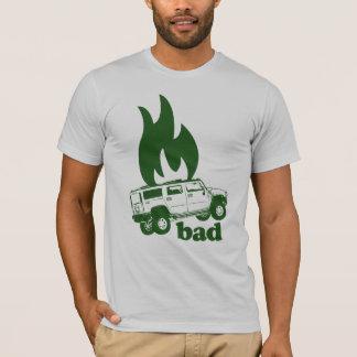 Burning SUVs is bad Tshirt