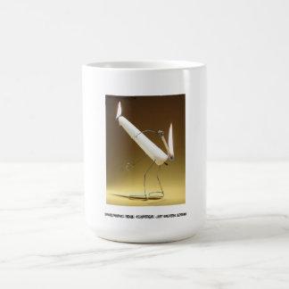 """""""Burning the candle at both ends"""" Mug"""