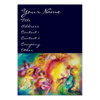 BURNING THE CARNIVAL / Theater ,Dance and Music Large Business Cards (Pack Of 100)