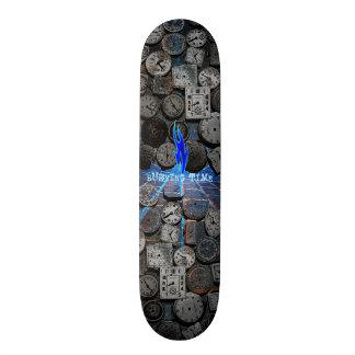 Burning Time Skateboard Deck