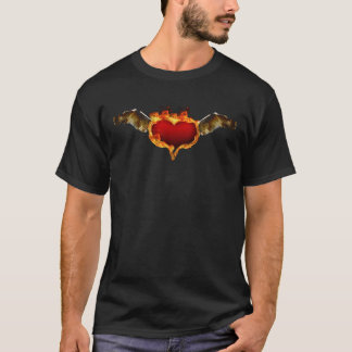 Burning with love T-Shirt
