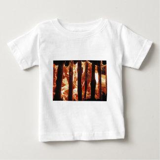 Burning wood baby T-Shirt