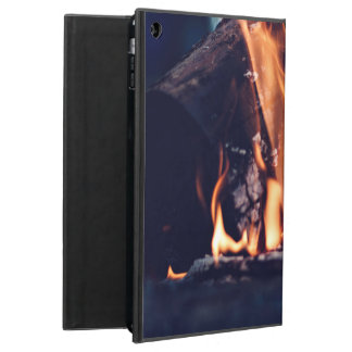 Burning wood case for iPad air