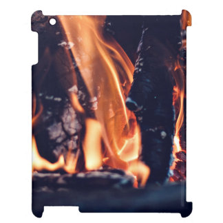 Burning wood case for the iPad 2 3 4