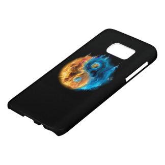 Burning Yin Yang Samsung Galaxy S7 Case