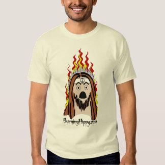 BurningHippy.com logo Shirt