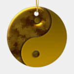 Burnished Gold Holiday Ornament