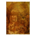 Burnished Tigers Poster