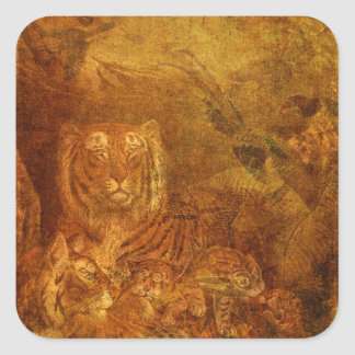 Burnished Tigers Sticker