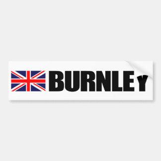 Burnley UK Flag Bumper Sticker