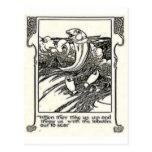Burno 13 tarjeta postal