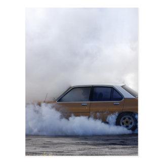 Burnout ! postcard