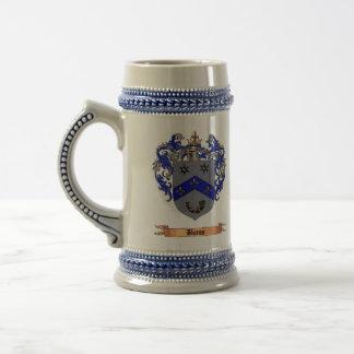 Burns Coat of arms Beer Stein