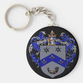 Burns Coat of arms Keychain