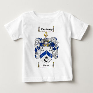 BURNS FAMILY CREST -  BURNS COAT OF ARMS BABY T-Shirt