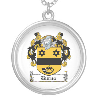 Burns Family Crest Custom Jewelry