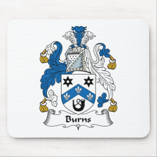 Burns Family Crest Mouse Pad