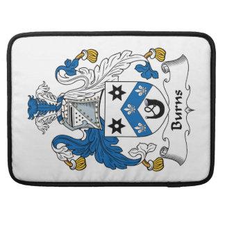 Burns Family Crest Sleeve For MacBooks