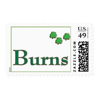 Burns Family US Postage