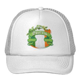 Burns Irish Shield Trucker Hat