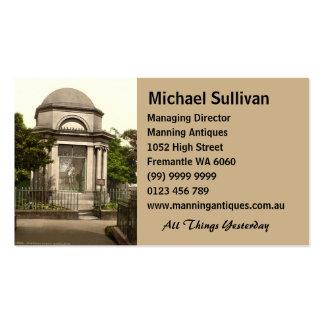Burns Mausoleum, Dumfries, Scotland Business Cards