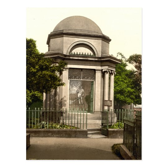 Burns Mausoleum, Dumfries, Scotland Postcard