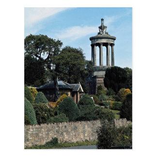 Burns Monument, Alloway, Scotland Postcard